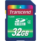 Secure digital card  SDHC 32 GB  Transcend
